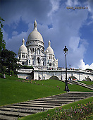 Tom Mackie, LANDSCAPES, photos, Sacre Cour, Paris, France, GBTM892216-3,#L#