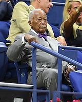 FLUSHING NY- AUGUST 29: David Dinkins seen during opening night ceremony on Arthur Ashe Stadium at the USTA Billie Jean King National Tennis Center on August 29, 2016 in Flushing Queens. Credit: mpi04/MediaPunch