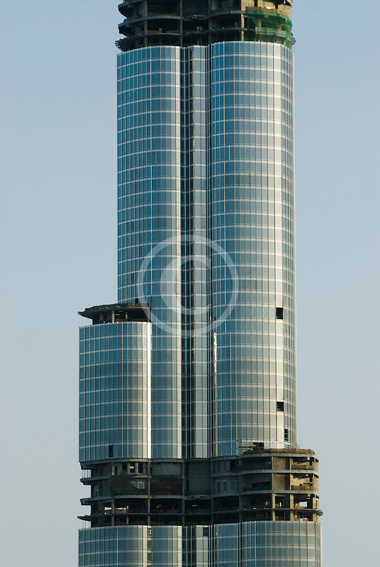 United Arab Emirates, Dubai, Burj Dubai tower