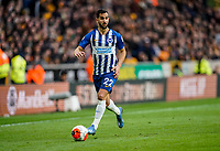 7th March 2020; Molineux Stadium, Wolverhampton, West Midlands, England; English Premier League, Wolverhampton Wanderers versus Brighton and Hove Albion; Martín Montoya of Brighton & Hove Albion takes the ball down the wing