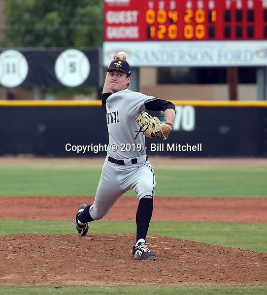 Mitchell DeCovich - 2019 Central Arizona College Vaqueros (Bill Mitchell)