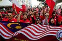 Labour day rally in Subang Jaya, Malaysia