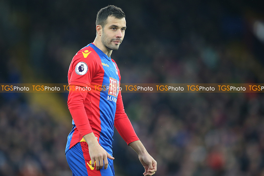 Luka Milivojevic of Crystal Palace during Crystal Palace vs Middlesbrough, Premier League Football at Selhurst Park on 25th February 2017
