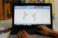 SÃO PAULO, SP, 24.07.2017 - MICROSOFT-PAINT - Apos 32 anos o software de edição de imagens que faz parte do Windows, entrou para lista de programas que serão descontinuados nos próximos meses. A Microsoft anunciou nesta segunda-feira, 24 (Foto: Nelson Gariba/Brazil Photo Press)