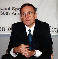 Rudy Giuliani 1998<br /> Photo to By John Barrett/PHOTOlink/MediaPunch