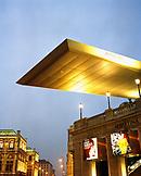 AUSTRIA, Vienna, The Albertina Museum at night