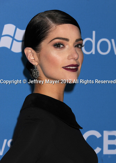 WEST HOLLYWOOD, CA - SEPTEMBER 18: Janet Montgomery arrives at the CBS 2012 fall premiere party at Greystone Manor Supperclub on September 18, 2012 in West Hollywood, California.