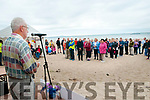 Fr. Pat Moore event in Asdee on Sunday last: Frank Lewis addressing the people in Asdee on Sunday evening last.