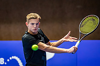 Alphen aan den Rijn, Netherlands, December 18, 2019, TV Nieuwe Sloot,  NK Tennis,  Niels Visker (NED)<br /> Photo: www.tennisimages.com/Henk Koster