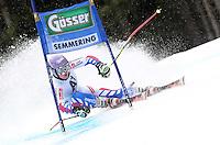 ATENCAO EDITOR IMAGEM EMBARGADA PARA VEICULOS INTERNACIONAIS - SEMMERING, AUSTRIA, 28 DEZEMBRO 2012 - AUDI FIS ALPINE WORLD CUP - A atleta francesa Tessa Worley compete na prova de Slalom Gigante do esqui Alpino durante a Audi FIS World Cup em Semmering na Austria nesta sexta-feira, 28. (FOTO: PIXATHLON / BRAZIL PHOTO PRESS).