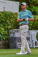 Sean O'Hair (USA) watches his tee shot on 15 during round 4 of the Dean &amp; Deluca Invitational, at The Colonial, Ft. Worth, Texas, USA. 5/28/2017.<br /> Picture: Golffile | Ken Murray<br /> <br /> <br /> All photo usage must carry mandatory copyright credit (&copy; Golffile | Ken Murray)