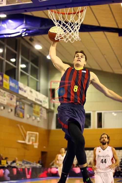 Regal XXXV Llia Nacional Catalana ACB 2014-Semifinals.<br /> FC Barcelona vs La Bruixa d'Or Manresa: 82-66.<br /> Mario Hezonja.