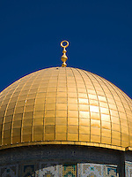 The Dome of the Rock is considered the third most sacred place for Muslims. The dome is covered in gold and it was possible after King Hussein of Jordan sold one of his houses in London and donated the funds.