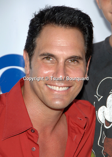 Don Diamont (Y&amp;R)  arriving at the  CBS television Critic Assocoation Summer Party at the Rose Bowl in Los Angeles.<br /> eye contact<br /> headshot<br /> smile