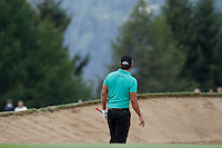 Pablo Larazabal (ESP) on the 17th during the 1st day of the Omega European Masters, Crans-Sur-Sierre, Crans Montana, Switzerland..Picture: Golffile/Fran Caffrey..