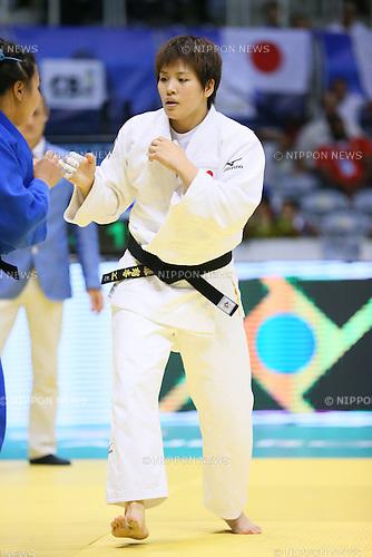 Ruika Sato (JPN), <br /> AUGUST 30, 2013 - Judo : <br /> 2013 Judo World Championships Rio de Janeiro <br /> Women's -78kg <br /> at Maracanazinho Arena, Rio de Janeiro, Brazil. <br /> (Photo by YUTAKA/AFLO SPORT) [1040]