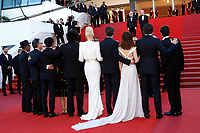 "The cast of Okja at the ""Okja"" premiere during the 70th Cannes Film Festival at the Palais des Festivals on May 19, 2017 in Cannes, France. (c) John Rasimus /MediaPunch ***FRANCE, SWEDEN, NORWAY, DENARK, FINLAND, USA, CZECH REPUBLIC, SOUTH AMERICA ONLY***"