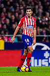 Rodrigo Cascante of Atletico de Madrid in action during the La Liga 2018-19 match between Atletico Madrid and FC Barcelona at Wanda Metropolitano on November 24 2018 in Madrid, Spain. Photo by Diego Souto / Power Sport Images
