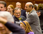 HARTFORD, CT- 03 JANUARY 07- 010307JT14-<br /> State Rep. Selim Noujaim, R-74th District, on the opening day of the General Assembly's 2007 session at the Capitol in Hartford.<br /> Josalee Thrift Republican-American