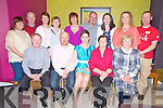 Fiona O'Shea, Mill Road, Killarney, pictured with Seamus O'Donoghue, Jeremiah O'Shea, Margaret O'Donoghue, Eileen O'Shea, Jackie O'Donoghue, Stephen McKenna, Assumptha O'Donoghue, Rita McKenna, Eileen Magee, John and Colette O'Shea, Triona O'Meara and James O'Donoghue as she celebrated her 40th birthday in the Gleneagle Hotel, Killarney on Saturday night.