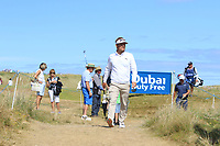 Soren Kjeldsen (DEN) walking to the 11th tee during Round 2 of the Dubai Duty Free Irish Open at Ballyliffin Golf Club, Donegal on Friday 6th July 2018.<br /> Picture:  Thos Caffrey / Golffile