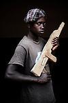 Daniel. 15 ans. 2 ans passés dans les groupes armés. Bukavu, RDC, juillet 2013.