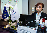 "BRUSSELS - BELGIUM - 23 November 2016 -- European Training Foundation (ETF) Conference on ""GETTING ORGANISED FOR BETTER QUALIFICATIONS"". -- Aspasija Hadzisce, Ministry of Education and Science - Former Yugoslav Republic of Macedonia - Advisor (FYR Macedonia). -- PHOTO: Juha ROININEN / EUP-IMAGES"