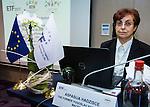 "BRUSSELS - BELGIUM - 23 November 2016 -- European Training Foundation (ETF) Conference on ""GETTING ORGANISED FOR BETTER QUALIFICATIONS"". -- Aspasija Hadzisce, Ministry of Education and Science - Former Yugoslav Republic of Macedonia - Advisor (FYR Macedonia). -- PHOTO: Juha ROININEN / EUP-IMAGES"