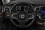 Car pictures of steering wheel view of a 2017 Volvo XC90 Momentum 5 Door SUV Steering Wheel