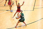 NELSON, NEW ZEALAND - AUGUST : Premier Netball Semi -Final Jacks OPD v Stoke on August 22 at Saxton Stadium  2019 in Nelson, New Zealand. (Photo by: Evan Barnes Shuttersport Limited)