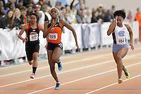 Syracuse's Sabrina Cammock (529) North Carolina's Javianne Oliver (454)
