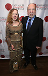 """Eve Wolf and Harvey Sachs attends the Opening Night Celebration for Ensemble for the Romantic Century Off-Broadway Premiere of<br />""""Maestro"""" at the West Bank Cafe on January 15, 2019 in New York City."""