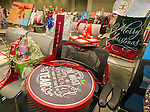 Gifts provided by campuses are placed before the Principal meeting, December 3, 2014.