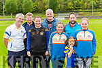 Des Spillane, Vladimir Sirotiak, Conor Gleeson, Grace O'Keeffe, Con Casey, Jessiaca Treyvaud, Paul Casey, and Emer O'Keeffe  at the Spa GAA funday on Saturday