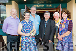 "l-r  Jimmy Brown, Mary Griffin, Joe O'Sullivan, Michael O'Halloran, Thomas O'Lawlor and Mary Foran O'Halloran at the Pattern ""Thrasher"" Festival at the White Sands Hotel Ballyheigue on Tuesday. Welcome the Homecoming of the Diaspora for Pattern Day on Thursday"