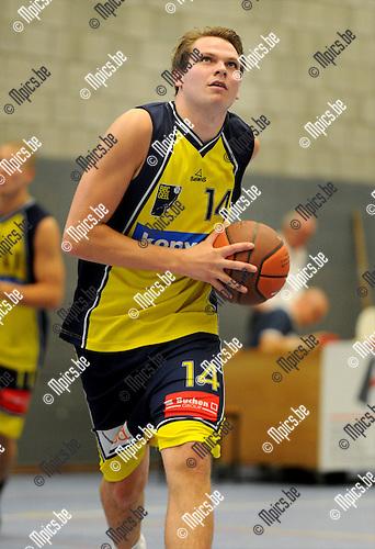 2011-09-07 / Basketbal / seizoen 2011-2012 / BBC Geel / Sam Tielens..Foto: mpics