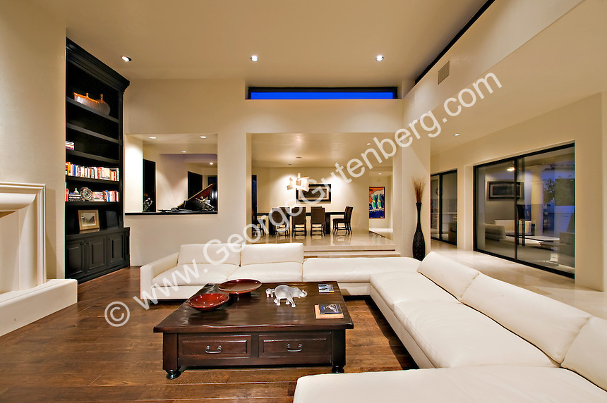 Stock Photo Of Living Room In Luxury Home Stock Photography