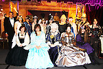 The Venetian Masquerade Faery Ball with members of the Faery Court - Front Row: Cricket Starr, Sahara Kelly & Amanda McIntyre (these two are the Queens), Eden Bradly, Samantha Gail. Back Row: Andrew Peterson, Suzanne Sarille, Cathy Clamp, Dana Lynton, Sharon Page, Cathy Matusak, Samantha Sommersby, Shannon K. Butcher, Andrew Shaffer, R.G. Alexander- the assembling the Fae for a Fantasy Night To Remember on April 8, 2010 at Romantic Times Booklovers Annual Convention 2011 - The Book Industry Event of the Year - April 6th to April 10th at the Westin Bonaventure, Los Angeles, California for readers, authors, booksellers, publishers, editors, agents and tomorrow's novelists - the aspiring writers. (Photo by Sue Coflin/Max Photos)
