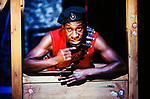 Graeae Theatre Company and Unicorn Theatre for Children;<br /> DIARY OF AN ACTION MAN by Kenny<br /> David Ellington;<br /> 12 February 2003