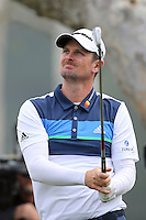 February 16, 2017: Justin Rose during the first round of the 2017 Genesis Open played at Riviera Country Club in Pacific Palisades, CA.