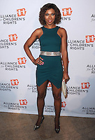 BEVERLY HILLS, CA - APRIL 7:  Toks Olagundoye at The Alliance for Children's Rights 22nd Annual Dinner at the Beverly Hilton Hotel on April 7, 2014 in Beverly Hills, California. PG213/MPI/Starlitepics