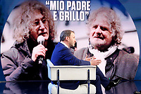 Davide Casaleggio, son of Gianroberto, with whom he crated the platform Rousseau. He contributed, with his father and Beppe Grillo  to found the Movement 5 Stars as well<br /> Rome February 13th 2020. Talk show Porta a Porta.<br /> Foto Samantha Zucchi Insidefoto