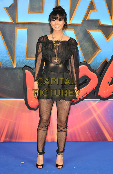 Betty Bachz at the &quot;Guardians of The Galaxy Vol. 2&quot; European gala film premiere, Hammersmith Apollo (Eventim Apollo), Queen Caroline Street, London, England, UK, on Monday 24 April 2017.<br /> CAP/CAN<br /> &copy;CAN/Capital Pictures
