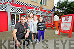 Fergal Kirby MJ's Diner, Tralee, pictured with his nephew and nieces; Micheal, Emmer, Saidhbh and Caoimhe Cotter.