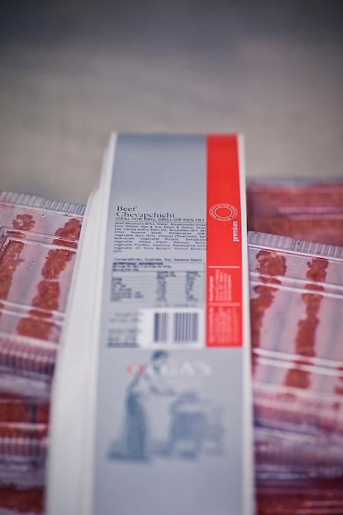 Olgas Fine Foods. Dr George Ujvary, Chicken Snitzel, chevapchichi,