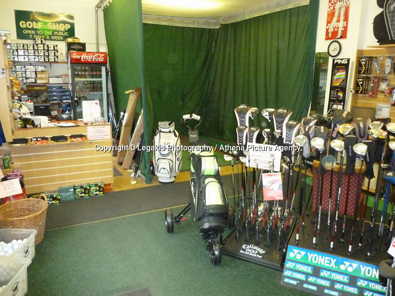 Pictured: The shop at Palleg Golf Club in Lower Cwmtwrch near Swansea, Wales, UK STOCK PICTURE<br /> Re: Bosses of the Celtic Manor, where the Ryder Cup and the NATO summit were held, are threatening legal action against a village club in Swansea changing its name to Celtic Minor.<br /> Palleg golf club was renamed Celtic Minor by businessman owner John Adams to attract more members.<br /> But a spokesman for Celtic Manor warned they will fight &quot;any attempt to take unfair advantage of their reputation&quot;.<br /> Celtic Minor said &quot;there wasn't any issue&quot; with the name change.<br /> Club manager Melanie Eaton said the name change &quot;works in their favour.&quot;
