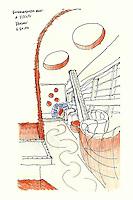 Susan Jones Sketchbook Poland 2005