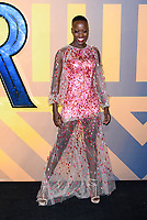 LONDON, ENGLAND - FEBRUARY 8: Florence Kasumba arrives at the 'Black Panther' European premiere at the Eventim Apollo, on February 8th, 2018 in London, England. <br /> CAP/JC<br /> &copy;JC/Capital Pictures