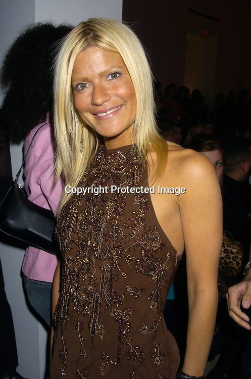 Lizzie Grubman..at The Baby Phat Fall 2005 Fashion Show on February 5, 2005 at Skylight. Photo By Robin Platzer, Twin Images