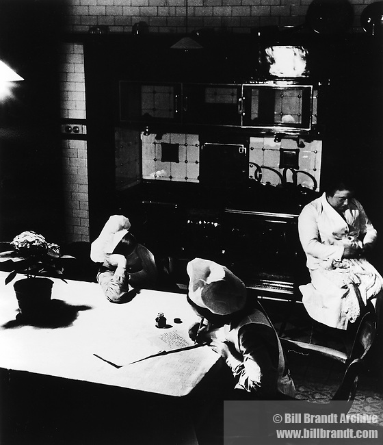 Late Evening in the kitchen, 1931-8